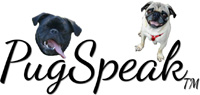 PugSpeak Pug Gifts By Mary Crissman